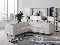 VIG Furniture Divani Casa Windsor Modern Leatherette Sectional Sofa