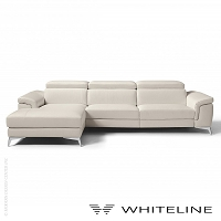 Flavio Italian Sectional | Whiteline
