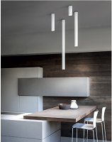 A–Tube Medium Ceiling Light | Lodes