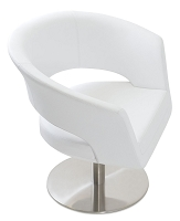 Ada Swivel Round Arm Chair | SohoConcept