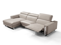 Adriano Italian Sectional | Whiteline