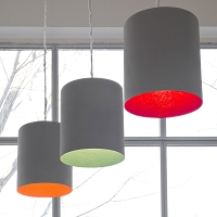 Bin Cemento Pendant Light | In-es Art Design