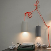 Candle 1 Pendant Light | In-es Art Design