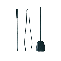 Ferro & Fuoco Fireplace Tools Set | Conmoto