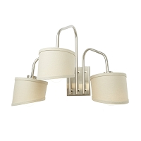 Up Coopster 3 Light Sconce - Cap Shade | Lights Up!