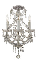 Crystorama Maria Theresa 4 Light Spectra Crystal Chrome Ceiling