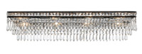 Crystorama 5267-EB-CL-MWP Mercer 8 Light Crystal Bronze Vanity