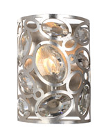 Crystorama Sterling Distressed Twilight Sconce