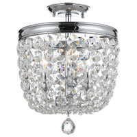 Crystorama 783-CH-CL-MWP Archer 3 Light Crystal Ceiling