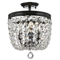 Crystorama 783-VZ-CL-S Archer 3 Light Swarovski Bronze Ceiling