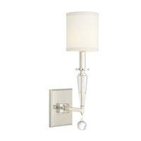 Crystorama Paxton Nickel Sconce