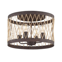 Crystorama ADR-A5024-FB Anders 4 Light Bronze Ceiling
