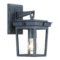 Crystorama BEL-A8061-GE Belmont Graphite Outdoor Wall Light