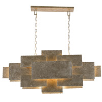 Crystorama BRO-4867-OX Bronson 6 Light Linear Chandelier
