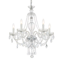 Crystorama CAN-A1305-CH-CL-S Candace 5 Light Chandelier