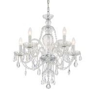 Crystorama CAN-A1306-CH-CL-SAQ Candace 5 Light Chandelier