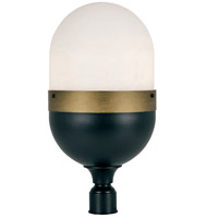 Crystorama CAP-8509-MK-TG Capsule Outdoor 3 Light Post