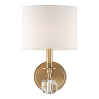 Crystorama CHI-211-AG Chimes Brass Wall Light
