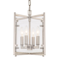 Crystorama DAN-8794-BN Danbury 4 Light Nickel Chandelier