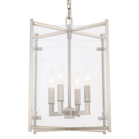 Crystorama DAN-8796-BN Danbury 4 Light Nickel Chandelier