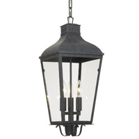 Crystorama DUM-9805-GE Dumont 3 Light Graphite Outdoor Chandelier