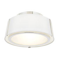 Crystorama FUL-903-PN Fulton 2 Light Nickel Ceiling