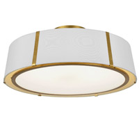Crystorama FUL-907-GA_CEILING Fulton 6 Light Gold Ceiling