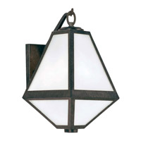 Crystorama GLA-9701-OP-BC Glacier Outdoor Wall Light