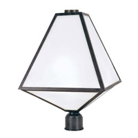 Crystorama GLA-9709-OP-BC Glacier Outdoor 3 Light Post