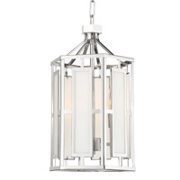 Crystorama HIL-997-PN Hillcrest 3 Light Nickel Chandelier