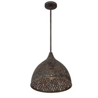 Crystorama JAS-A5010-FB Jasmine Bronze Pendant Light