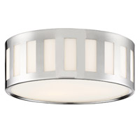 Crystorama KEN-2203-PN Kendal 3 Light Nickel Ceiling