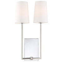 Crystorama LEN-252-CH Lena 2 Light Wall