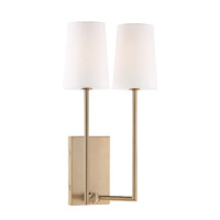 Crystorama LEN-252-VG Lena 2 Light Gold Wall