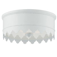 Crystorama NIN-A3903-MT Nina 3 Light Ceiling