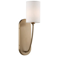 Crystorama PRE-461-VG Preston Gold Wall Light