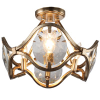 Crystorama QUI-7624-DT Quincy 4 Light Twilight Ceiling