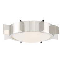 Crystorama SOL-A3103-PN Solas 3 Light Nickel Ceiling