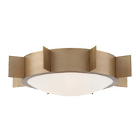 Crystorama SOL-A3103-VG Solas 3 Light Gold Ceiling