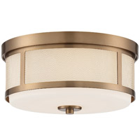 Crystorama TRV-A3802-VG Trevor 2 Light Gold Ceiling