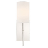 Crystorama VER-241-PN Veronica Nickel Wall Light