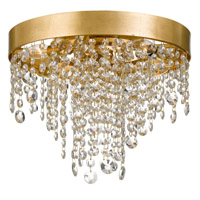 Crystorama WIN-613-GA-CL-MWP Winham 4 Light Gold Crystal Ceiling