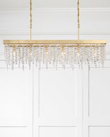 Crystorama Winham 6 Light Gold Chandelier