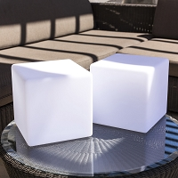 Dice LED Indoor/Outdoor Lamp | Smart & Green