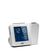 Digital Tilt Alarm Clock | Braun