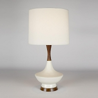 Up Duck Table Lamp - Bisque Ceramic | Lights Up!