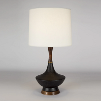 Up Duck Table Lamp - Cast Iron Ceramic | Lights Up!
