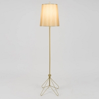 Up Flight Floor Lamp - Gold | Lights Up!