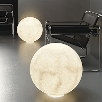 Floor Moon Floor Lamp | In-es Art Design