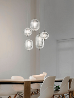 Jefferson Medium Suspension Lamp | Lodes